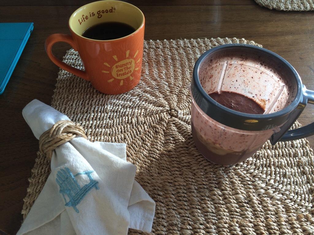 Cacao berry smoothie