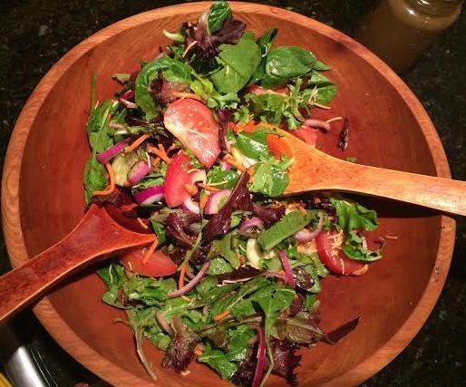 Sassy salad