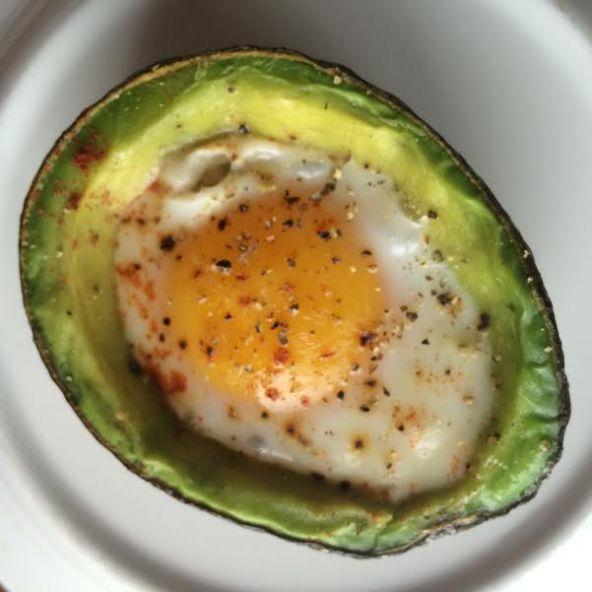 Seasoned Baked Avocado