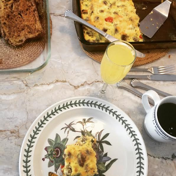 low-carb egg casserole