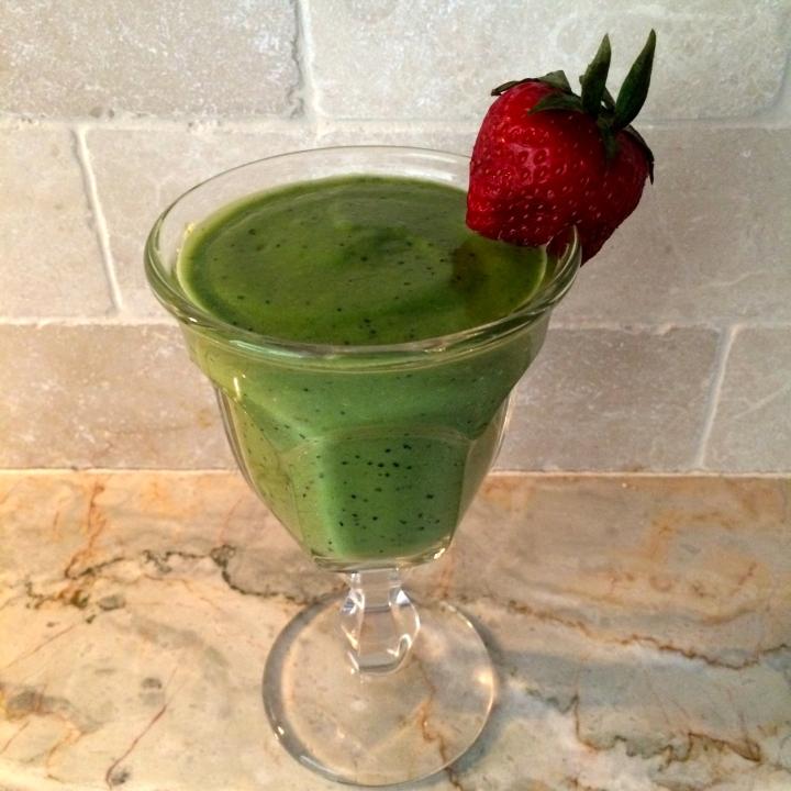 Healthy Protein Shamrock Shake