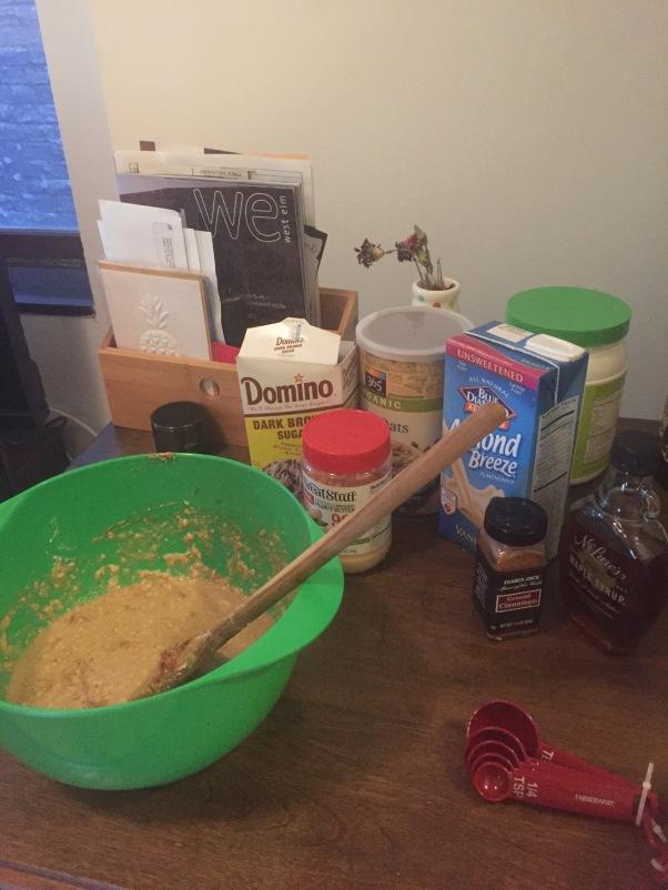 nutty protein pancakes