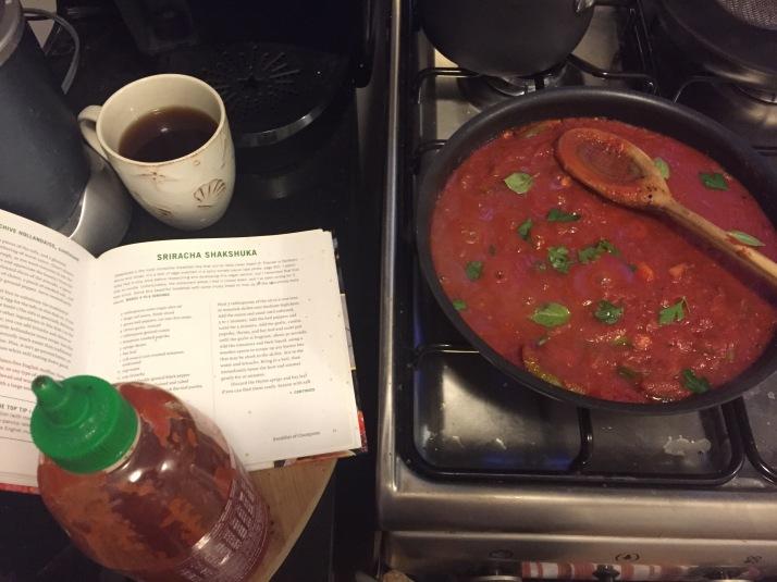 Sriracha Shakshuka