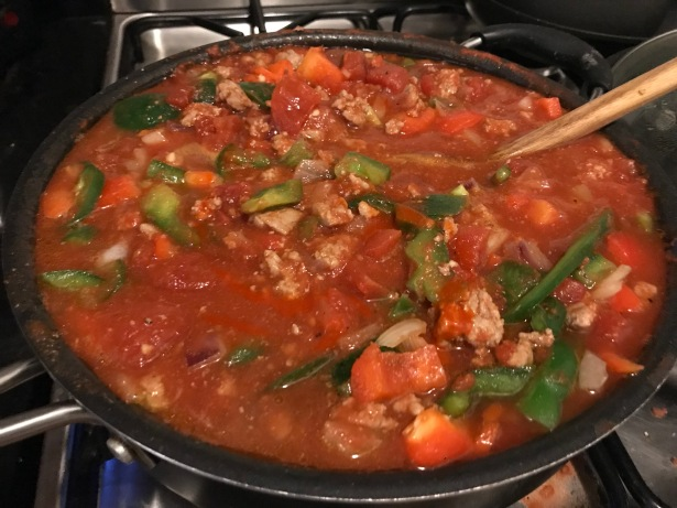 goddamn healthy turkey chili
