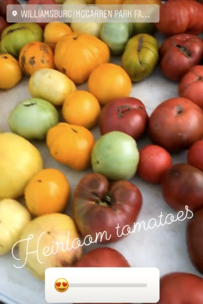 Crazy About Heirloom Tomatoes Vivi E Impara Live And Learn